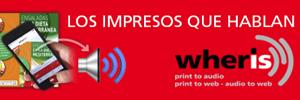 Wheris, los impresos que hablan