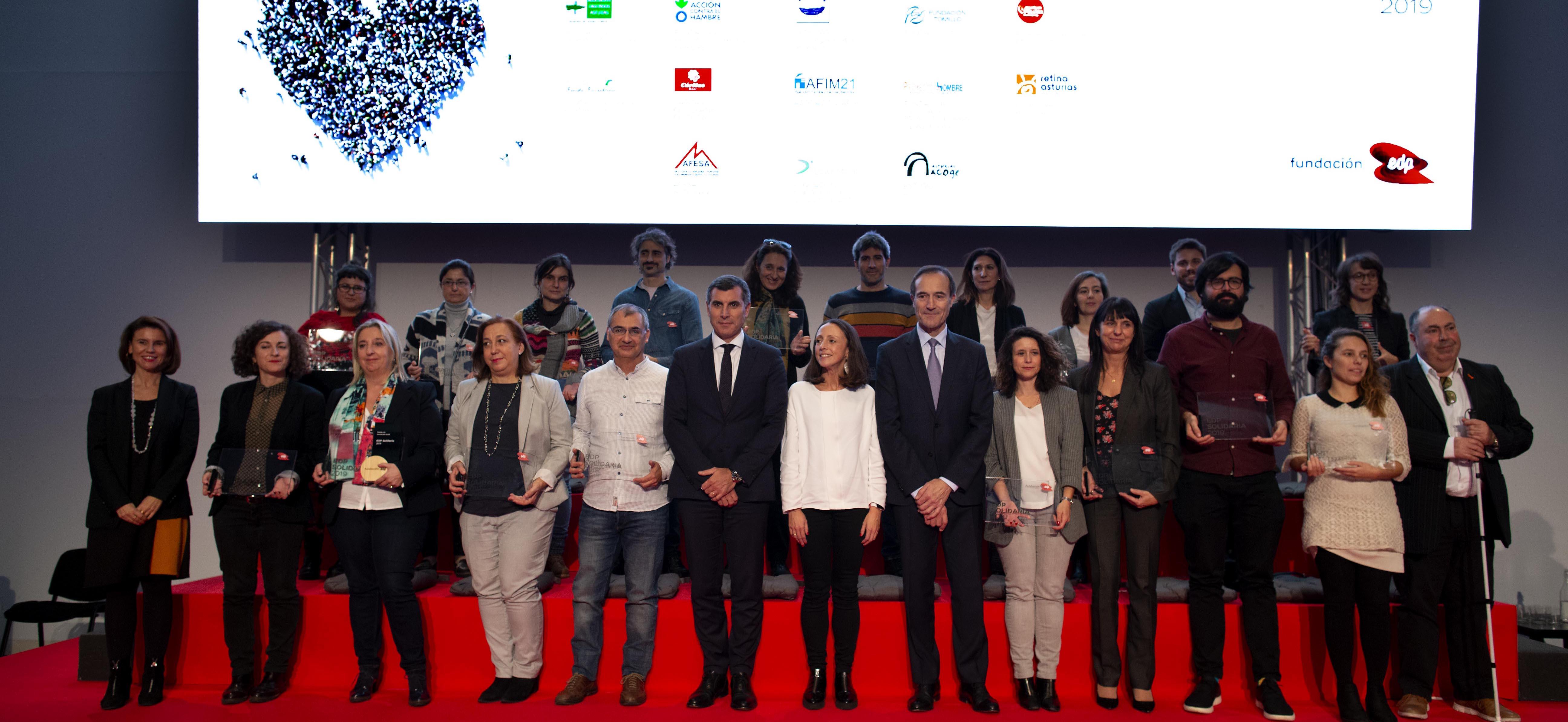 ODS16. La Fundación EDP presenta los 18 proyectos seleccionados en EDP Solidaria - Corresponsables.com